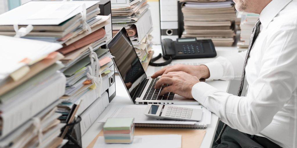 Manual work desk