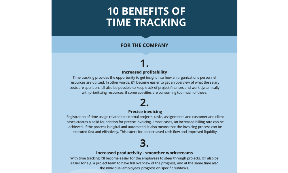 Featured: Other, 10 benefits of time tracking