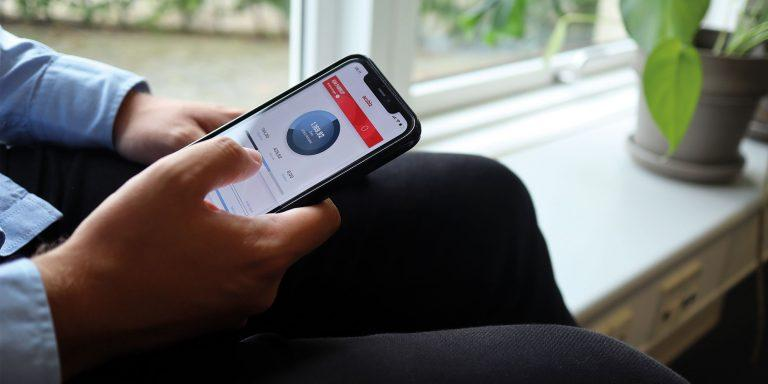Acubiz app for company expenses
