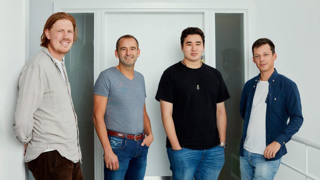 Frederik, Hans-Jørgen, Jesper & Joacim