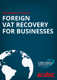 Ebook: The ultimative guide to: Foreign VAT recovery for businesses